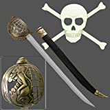 Lady of the Deep Blue Sea Pirate Cutlass Sword