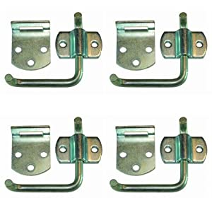 4 Pack of Corner Gate Latches - Stake Body Truck Gates Latches