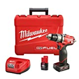 "Milwaukee 12v M12 FUEL 1/2"" Hammer Drill/Driver Kit (2404-22)"