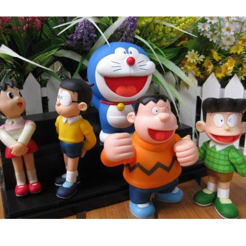 ドラえもんと友達フィギュア玩具5pcs/set  ドラえもんファミリー のび太  しずか スネ夫 武