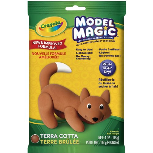 Crayola Model Magic 4-Ounce, Terra Cotta (Fun Models compare prices)