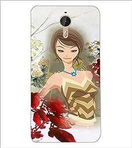 PrintDhaba Bold Girl D-4104 Back Case Cover for LETV LE 1 PRO ULTRA (Multi-Coloured)