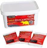 Pest-Stop Super Mouse & Rat Killer (25 x 40g Sachets)