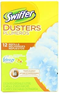 Swiffer 82725 Sweet Citrus & Zest Swiffer® Duster Refills 12 Count (Pack of 4)