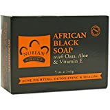 Bar Soap, African Blk with Al, 5 oz ( 2 Pack)