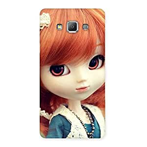 Enticing Tiny Baby Girl Multicolor Back Case Cover for Galaxy A7