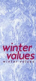 Winter Values - Vertical Paper Banner - 19