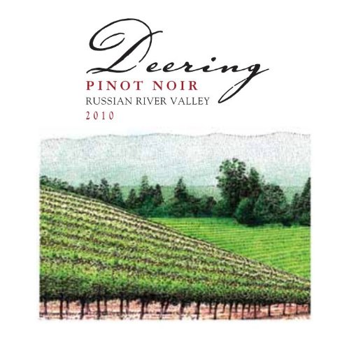 2010 Deering Pinot Noir 750 Ml