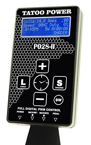 New 4th Generation P028-II Dual Tattoo Power Supply