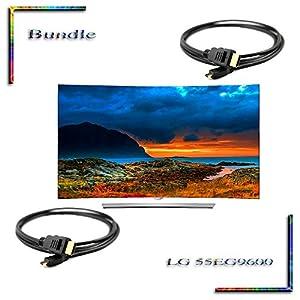Cyber Monday Special 55EG9600 55 inch curved Smart OLED 4K Ultra HD TV 55eg9600 Bundle