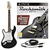 Rocksmith 2014 PS3 + LA Left Handed Electric Guitar Black