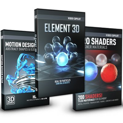 Element 3D Design Bundle - Video Copilot