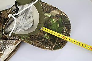 NuoYa005 US Camo Camping 360 Degree Protection Sunscreen UV Hat Folding Visor Fishing Cap by NuoYa
