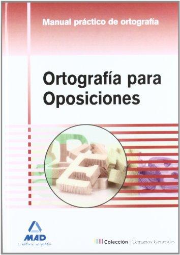 ORTOGRAFIA PARA OPOSICIONES