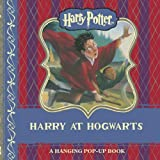 img - for harry potter: harry at hogwarts hanging pop-up book / textbook / text book