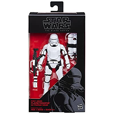 Star Wars The Black Series 6-Inch First Order Flametrooper from Hasbro