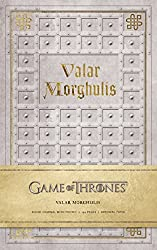 Game of Thrones: Valar Morghulis Hardcover Ruled Journal (Insights Journals)