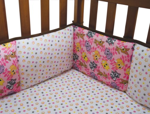 Woodland Animals Baby Bedding 1001 front