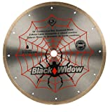 QEP 6-1008BW 10-Inch Black Widow Micro-Segmented R...