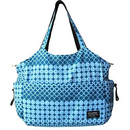 Damai Large Diaper Tote Satchel Bag (Blue)
