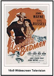 Angel And The Badman Widescreen Television