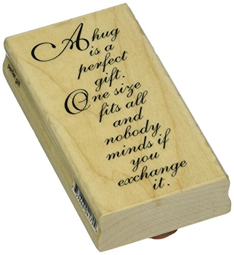 Penny Black 485579 Perfect Gift Mounted Rubber Stamp, 2 by 3.75-Inch