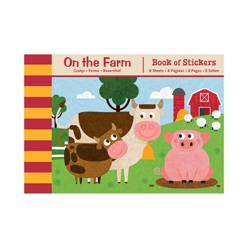 Mudpuppy On the Farm Book of Stickers - 1