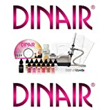 51N33KxJn2L. SL160  AIRBRUSH MAKEUP KIT DINAIR STUDIO BEAUTY 12 COLORS