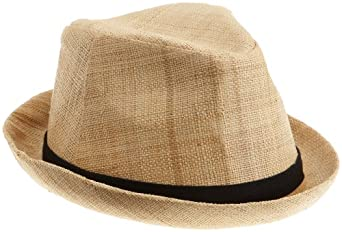San Diego Women's Natural Raffia Fedora,Natural,Medium