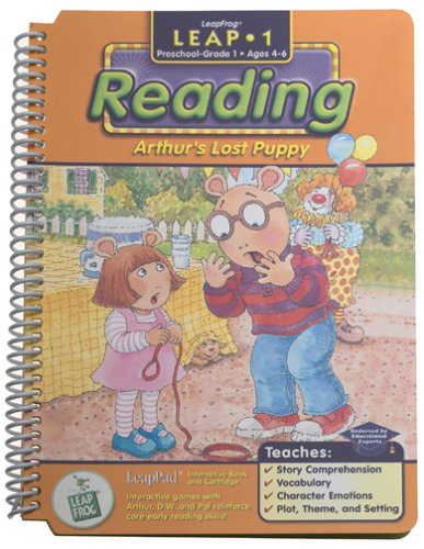 "LeapPad: Leap 1 Reading - ""Arthur's Lost Puppy"" Interactive Book and Cartridge"