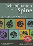 Rehabilitation of the spine : a practitioner