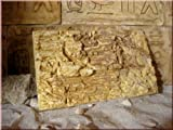 Ägyptische Dekorfliese Nr. 6, Felswandplatte, Terrarium...