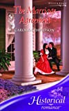 The Marriage Agreement (Historical Romance) (Historical Romance) (0263851613) by Davidson, Carolyn