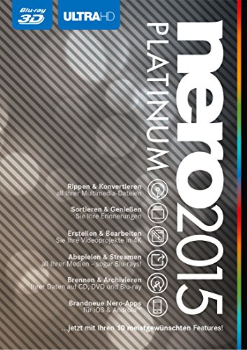 Nero 2015 Platinum (Frustfreie Verpackung)