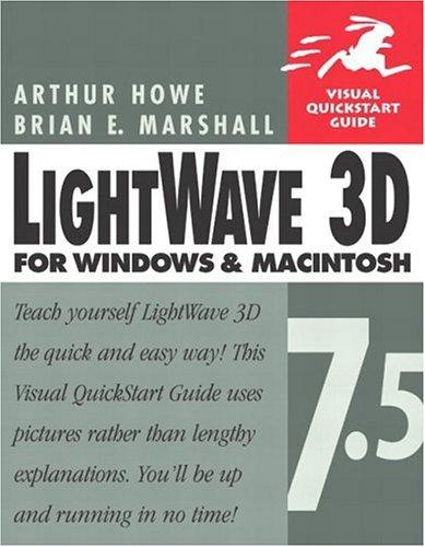 Lightwave 3D 7.5 for Windows & Macintosh (Visual QuickStart Guide) (Lightwave 3d Software compare prices)