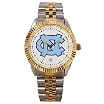 North Carolina Tar Heels - UNC Suntime Mens Executive Watch - NCAA College Athletics