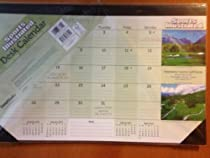 Sports Illustrated Golf Courses 2013 Desk Pad Calendar