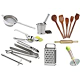 16 Pc. Everyday Essential Kitchen Tools Set