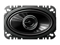 See Pioneer TSG4645R 4 x 6 2-Way 200W Car Speakers Details