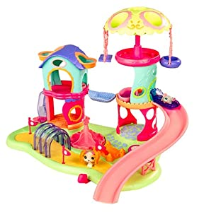 littlest pet shop whirl around playground. Black Bedroom Furniture Sets. Home Design Ideas