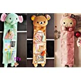 Rilakkuma San-x Wall Hanging Storage Bag 3 Pockets 3 Designs (bear)