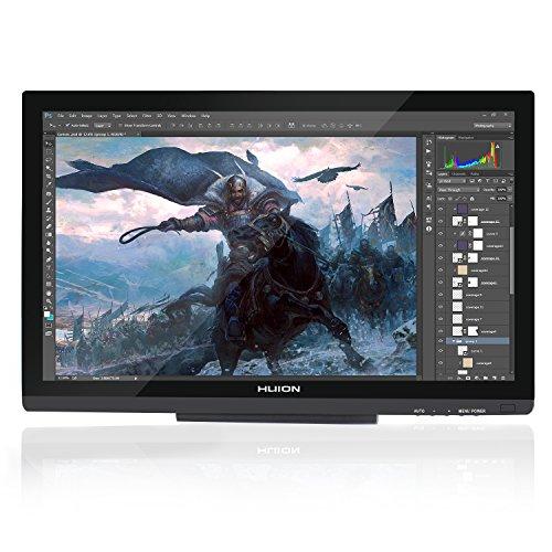 Huion® GT-220 Dessin Graphique Moniteur 21.5'' avec Stylet, Résolution Full HD (Noir)