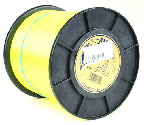 Ande tournament monofilament line hi vis yellow 2 lb for Ande fishing line