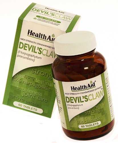 HealthAid Devil's Claw 500mg - 60 Tablets