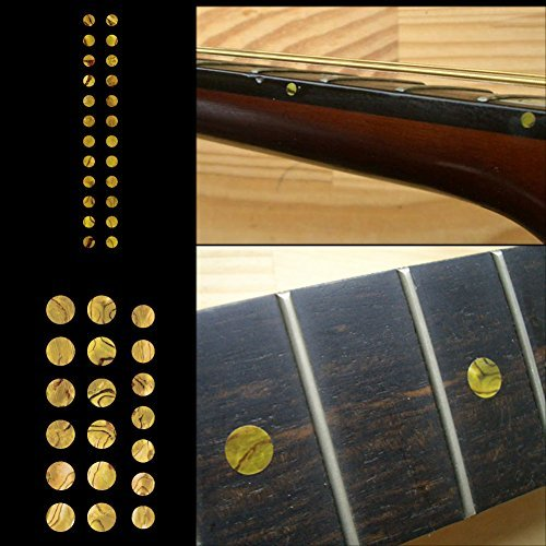 Fretboard Markers Inlay Sticker Decals for Guitar and Bass - Custom Dots Set-OC (Fretboard Side Marker compare prices)