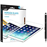 Ipad Air / Ipad Air2 Screen Protector Tempered Glass - Glass Screen Protector Sentey® Koraza 9h Tablet 0.33 Mm Ls-11113 Bundle with Free Metal Stylus Touch Screen Pen Round Edge 0.33mm Ultra-clear Glass Screen Protector Perfect Fit for Ipad Air /Air2 (9.7 Inch Only) Maximum Screen Protection From Bumps, Drops, Scrapes, and Marks