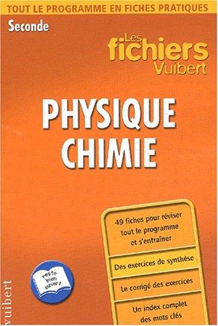 livre de physique chimie seconde pdf