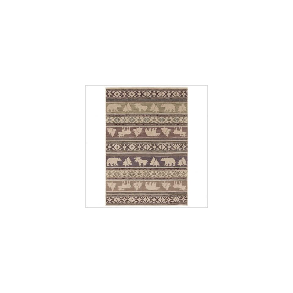 Canyon Trail Light Multi Rug Size 93 x 1211