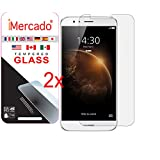 Screen Protector Huawei G8 iMercado (Pack of 2, Tempered Glass)