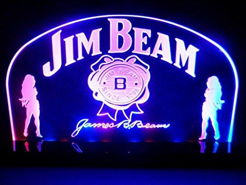 Jim Beam Bourbon Whiskey Led Table Lamp Night Light Beer Bar Room front-808949